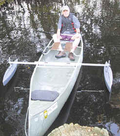 CastleCraft Canoe Stabilizers and Outriggers