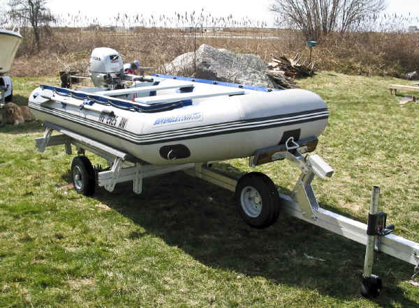 Castlecraft Trailer For Inflatable Boat And Rib Trailex
