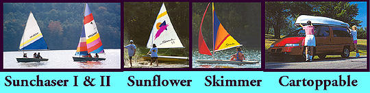 CastleCraft Sea Skimmer Sailboat | Snark Sea Devil Sailboats